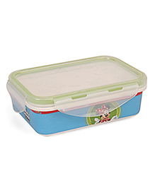 Disney Lunch Box Mickey Mouse Print - White