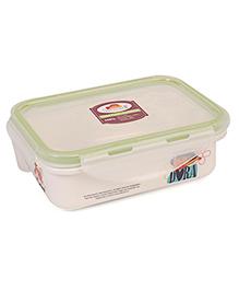 Dora Printed Lunch Box - White