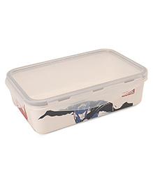 Marvel Small Lunch Box Avengers Print - Off White Black