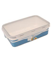 Disney Small Lunch Box Donald Duck Print - Light Blue & Off White