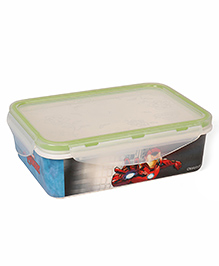 Marvel Avengers Printed Lunch Box - Blue Red