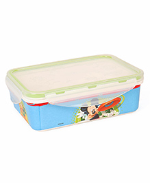 Disney Mickey Mouse Printed Lunch Box - Blue