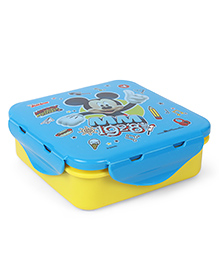Disney Mickey Mouse And Friends Lunch Box 1928 Print - Blue Yellow
