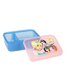 Disney Lunch Box Princess Print - Blue