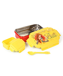 Marvel Lunch Box Princess Print - Yellow  & Red