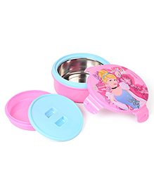 Disney Cinderella Round Lunch Box - Pink Blue