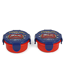 Disney Pixar Car Lunch Box Pack Of 2 - Blue Red