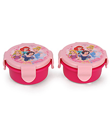 Disney Princess Lunch Box Pack Of 2 - Pink