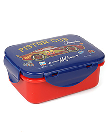 Disney Pixar Cars Lunch Box - Blue & Red