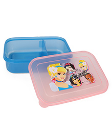 Disney Lunch Box Cinderella Print - Blue Pink