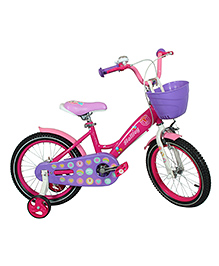 Hollicy Cindy Kids Bicycle Pink Purple - 16 Inch