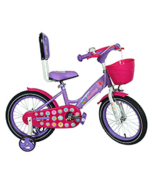 Hollicy Cindy Kids Bicycle Purple Pink - 16 Inch