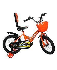 Cosmic Ziva Kids Bicycle Black & Orange - 16 Inches