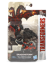 Transformer The Last Knight Dragon Storm Red Black - 14 Cm