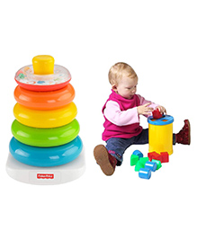 Fisher Price 3 In 1 Sorting And Stacking Gift Pack - Multicolor