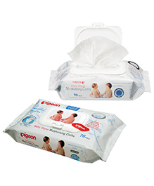 Pigeon Baby Wipes 70 Pieces
