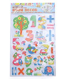 Maths Theme Room Decor Sticker - Multi Color