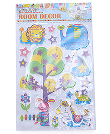 Tree & Stars Theme Room Decor Sticker - Multi Color