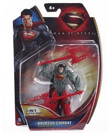 Superman - Man Of Steel Krypton Combat Superman