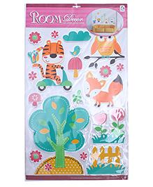 Animal Shape Room Decor Sticker - Multi Colour