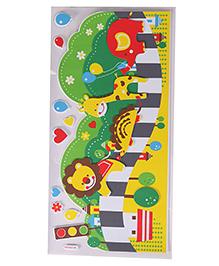 Animal Theme Room Decor Sticker - Multi Colour - 2039560