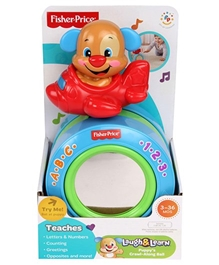 Fisher Price - Puppy Crawl Along The Ball