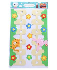 Floral Theme Room Decor Sticker - Multi Colour - 2039868