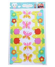 Butterfly Theme Room Decor Sticker - Multi Colour