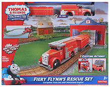 Fisher Price - Motorized Railway Fiery Flynn's Rescue Set