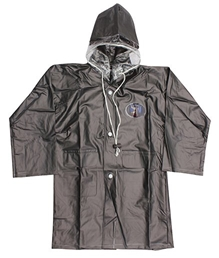 Minister -  Plain Grey  Raincoat