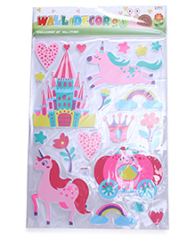 Horse Theme Room Decor Sticker - Multi Colour