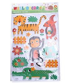 Tiger Theme Room Decor Sticker - Multi Colour