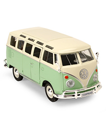 Maisto Volkswagen Van Samba - Green Off White