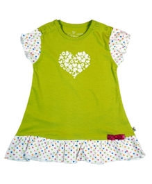 Buzzy -  Short  Sleeves Frock