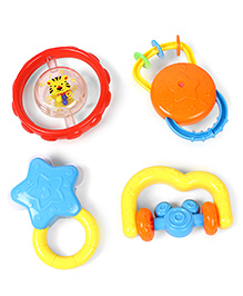 Baby Rattles Set Multicolour - Pack Of 4
