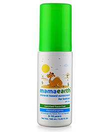 Mamaearth Mineral Based Sunscreen For Babies - 100 Ml