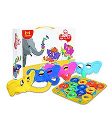 Toiing Elefuntoi Fun Hilarious Party Board Game - Multi Color