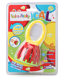 Musical Baby Rattle - Red Yellow