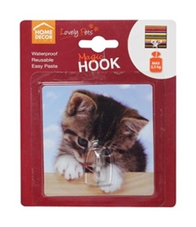 Home Decor Line Magic Hook - Cats & Clouds