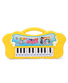 Electronic Keyboard Piano Toy - Yellow