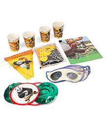 Themez Only Kung Fu Panda Party Accessories Set - Multicolour