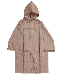 Minister - Plain Brown Raincoat