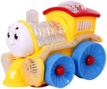 Classic - Battery Operated Train Engine Toy, Yellow