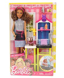 Barbie Pet Groomer Doll Multicolor - 28 Cm
