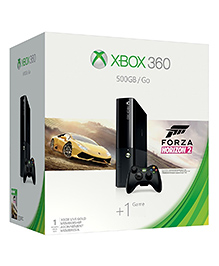 Xbox 360 Forza Horizon 2 Bundle Gaming Console - Black