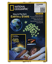 Hamleys Glow In The Dark Earth & Stars Learning Guide