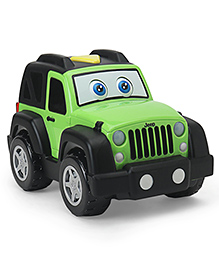 Jeep Funny Friend Motorized Toy Jeep - Green