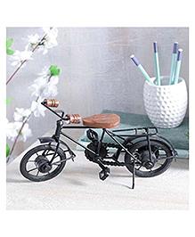 Desi Karigar Home Cycle Showpiece - Black