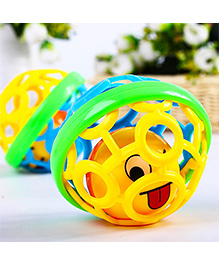 Emob Baby Rattle Ball - Yellow Green