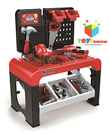 Toys Bhoomi 3 In 1 Play & Learn Kids Tools Set - Red Black